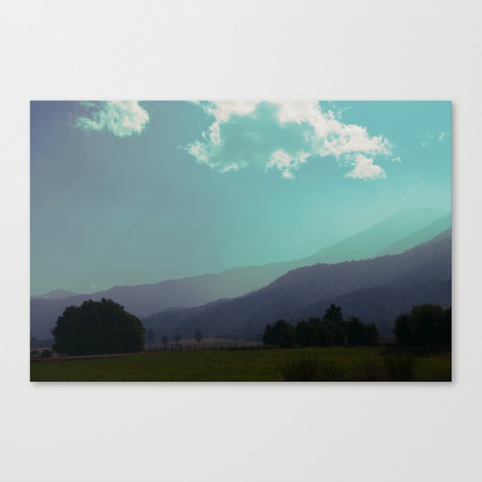 Deep Layers Canvas Print