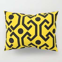 Ethnic Pattern (Yellow) Pillow Sham