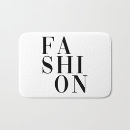 fashion Bath Mat
