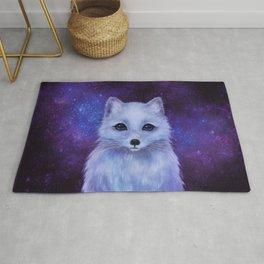 Arctic Fox (color version II.) Rug