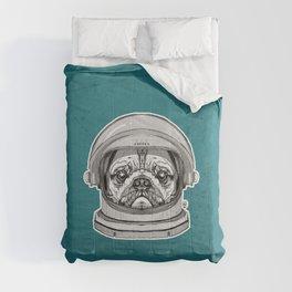 Astronaut Pug Comforters
