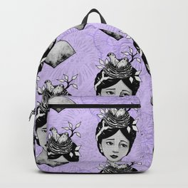 Beth's Nest Pattern Backpack