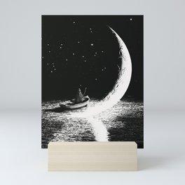 Arrival At Moonlight Mini Art Print