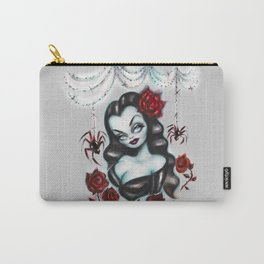 Vampire Vixen with Roses Carry-All Pouch