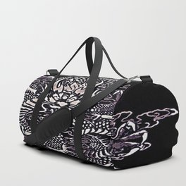 Epic Dragon White Duffle Bag
