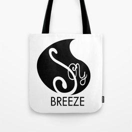 SOY BREEZE black Tote Bag