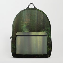 Mist over the moor Backpack