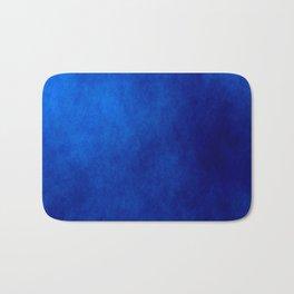 Misty Deep Blue Bath Mat