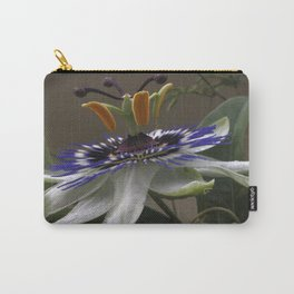 Close Up of Beautiful Passiflora Flower Carry-All Pouch