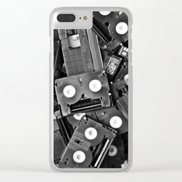 Tapes IV Clear iPhone Case