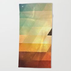 lyyt lyyf Beach Towel