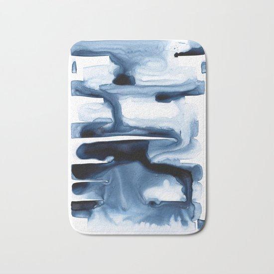 Abstract Indigo no. 1 Bath Mat