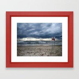 Tel Aviv Beach Jan 2016 Framed Art Print