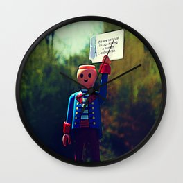 Headless Revolutionary No. 2 Wall Clock