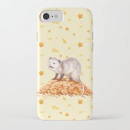Autumn Opossum iPhone Case