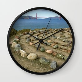 Lands end San Francisco Wall Clock