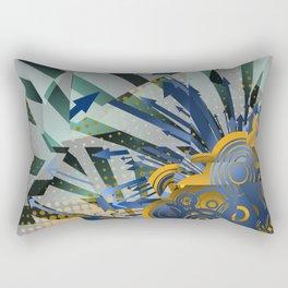 Vector Cubism Rectangular Pillow