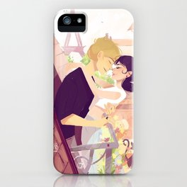Adrianette iPhone Case