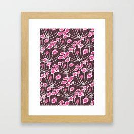 Floral Sprigs Framed Art Print