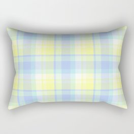 Spring Plaid 9 Rectangular Pillow
