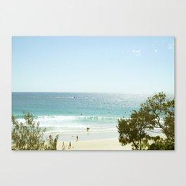A day at the Beach 5 Canvas Print