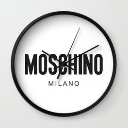 Moschino Milano Wall Clock