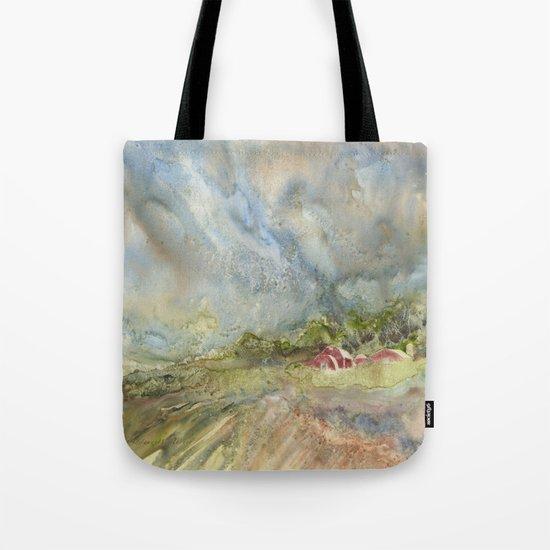 An American Farm Tote Bag