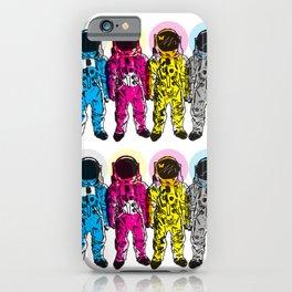 CMYK Spacemen iPhone Case