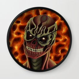 Arch-vile from DOOM Wall Clock