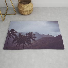 Misty Mountains - Kauai, Hawaii Rug
