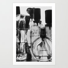 Smells So Nice in Black & White Art Print