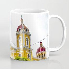 View of Granada Cathedral at the Center of Parque Central De Granada in Nicaragua Coffee Mug