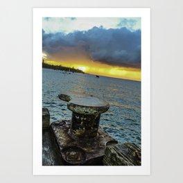 Bay of Port Phillip Art Print