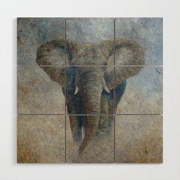 Elephant 2 Wood Wall Art