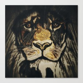 Noble Lion Canvas Print