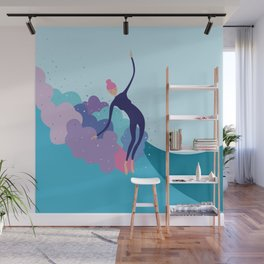 Lady Glider Wall Mural