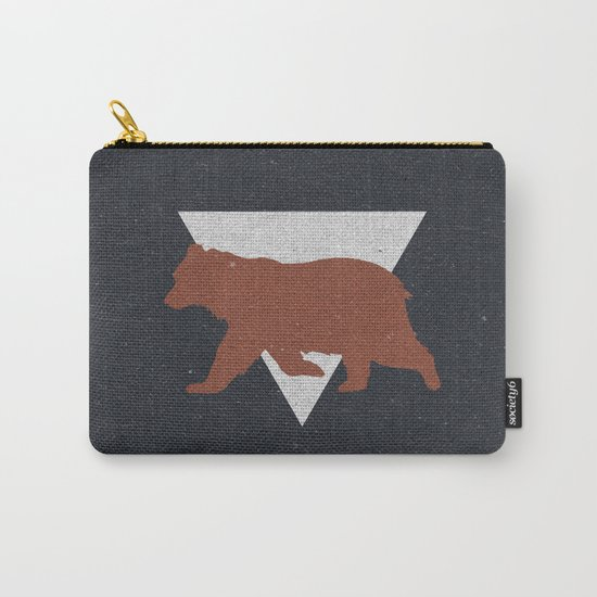 Bear & Bravery Carry-All Pouch