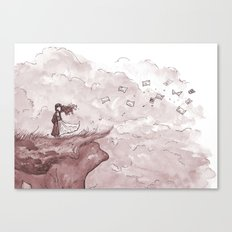 Letters from the Edge of the World Canvas Print