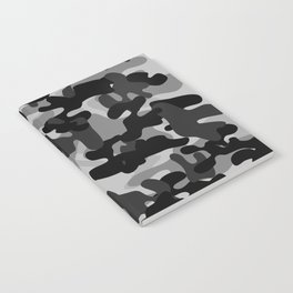 Camouflage (Gray) Notebook