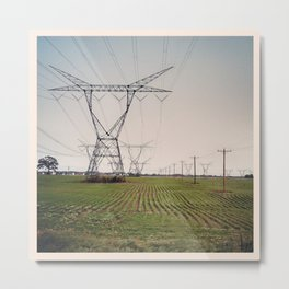 Strange to Leave Chicago and Find Illinois Metal Print