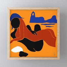 Eros Framed Mini Art Print