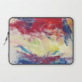 Abstract Oil Paint Vector Laptop Sleeve