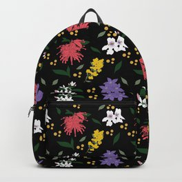 Australian Floral Pattern Backpack