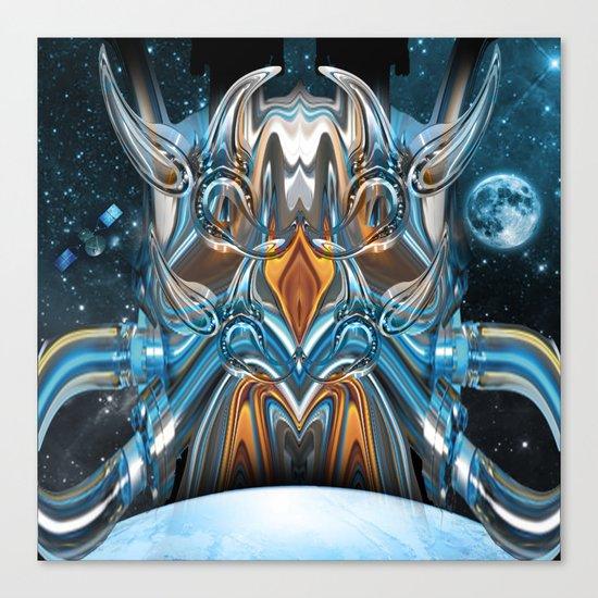 ion rising Canvas Print