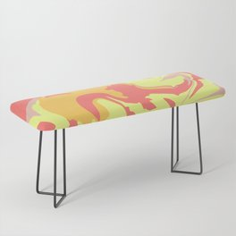 LIQUID SUMMER MARBLE Bench