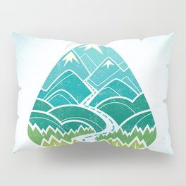 The Road Goes Ever On: Summer Pillow Sham
