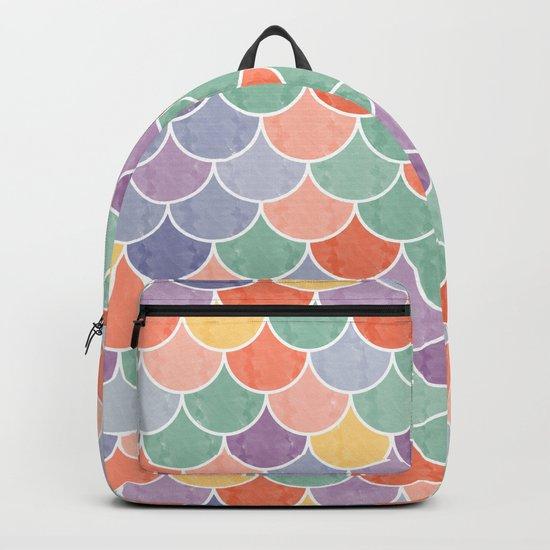 Watercolor Lovely Pattern VVXVIV Backpack