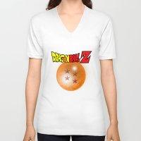 dragonball z V-neck T-shirts featuring Dragonball Z, 4 star by Metalot