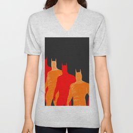 The Bat Retro Unisex V-Neck