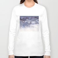 fairy tale Long Sleeve T-shirts featuring Winter fairy-tale by Ivanushka Tzepesh